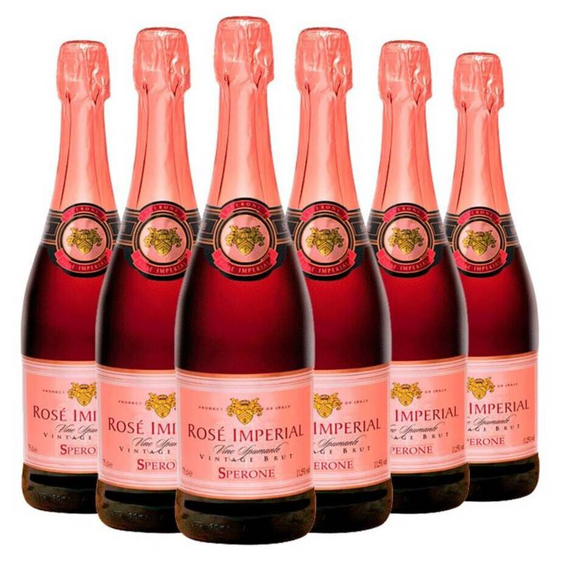 Sperone - Caja X 6 Botellas Sperone Brut Rose