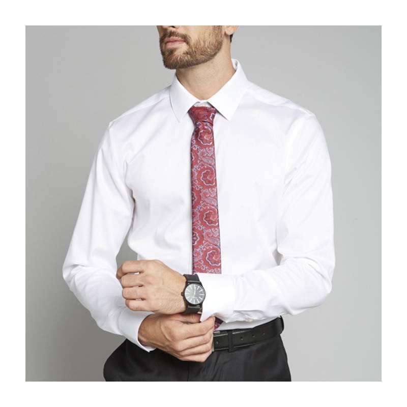 PERRY ELLIS - Camisa de Algodón Non Iron Hombre