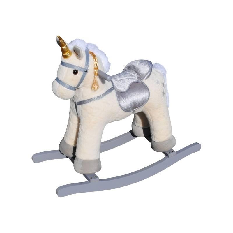 ANSALDO - Unicornio Plush Balancin con Sonido