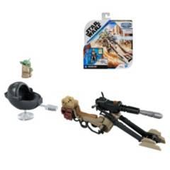 STAR WARS - Star Wars Flota Misionera Mando  Baby Yoda The Mandalorian Hasbro