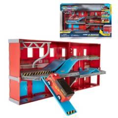 ZURU - Playset Expandible Con Auto Micro Machines - Fire & Rescue