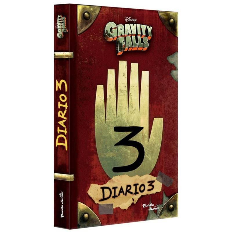 Gravity Falls - Libro Gravity Falls Diario 3 - En Español
