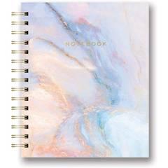 LA PAPELARIA - Cuaderno Mediano Separador Marmol