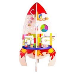 CLASSIC WORLD - Cohete Multi-Actividades Madera Classic World