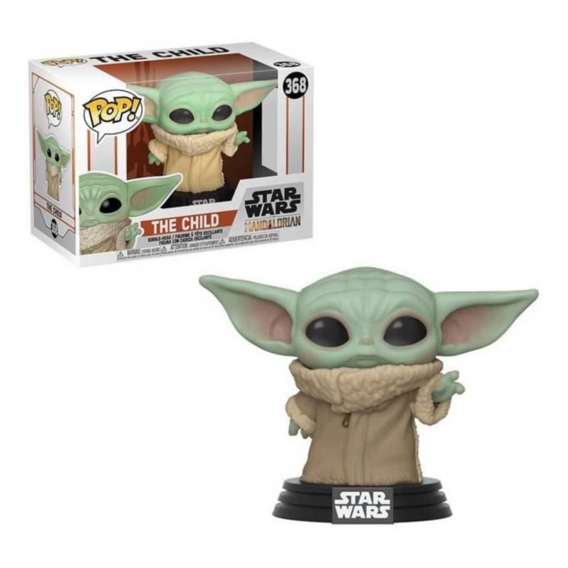 FUNKO - Funko Pop Star Wars: Baby Yoda El Mandaloriano #368