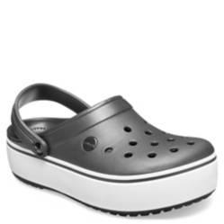 Crocs - Sandalia Mujer Crocband Platform Clog Negro