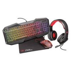 Trust - Kit Gamer Trust GXT 788RW 4-in-1 Para PC y Laptop