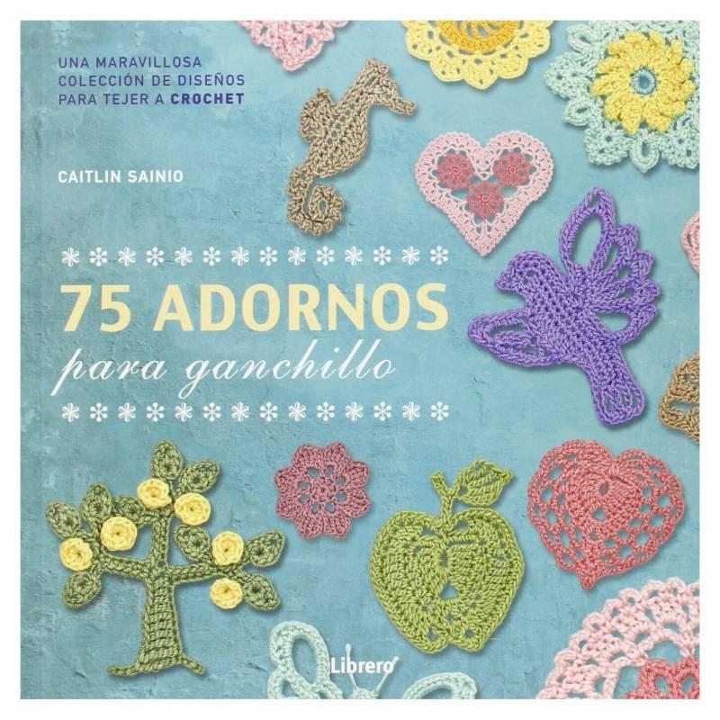 LIBRERO - 75 Adornos para Ganchillo