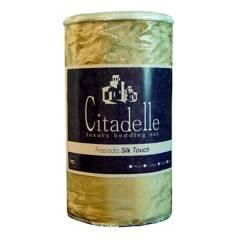 CITADELLE - Frazada Silk Touch Tacto Ultra Suave Camel
