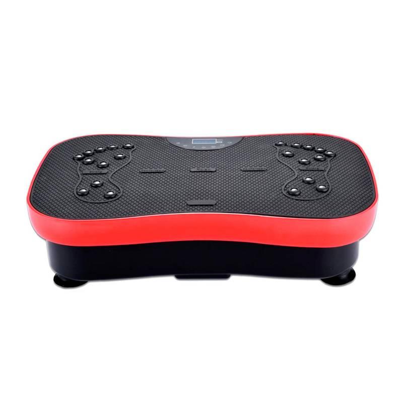 Mundo Onli - Plataforma Vibratoria Fitness con Control Rojo