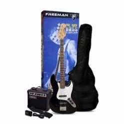 Freeman - Pack Bajo Freeman Full Rock BK