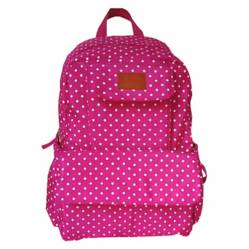 CHALLATIN - Mochila Maternal Little Dots Fucsia