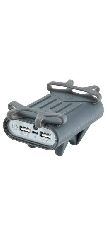 Topeak - Soporte Topeak con Cargador Smartphone Bicicletas