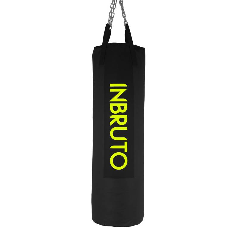 INBRUTO - Saco de Boxeo Amarillo 1 mt sin Relleno