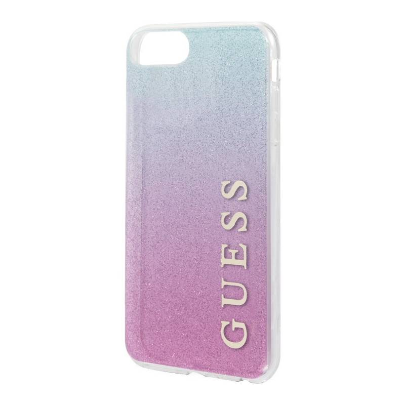 Guess - Carcasa Guess P/Iphone 7/8 Azul-Rosado