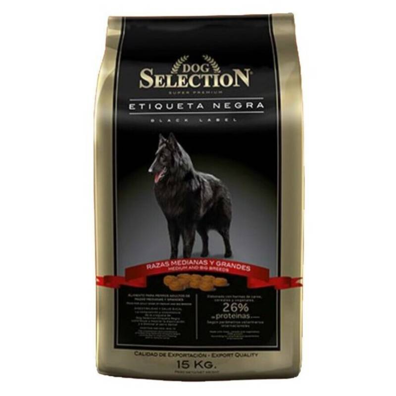 DOG SELECTION - Dog Selection Etiqueta Negra Adulto