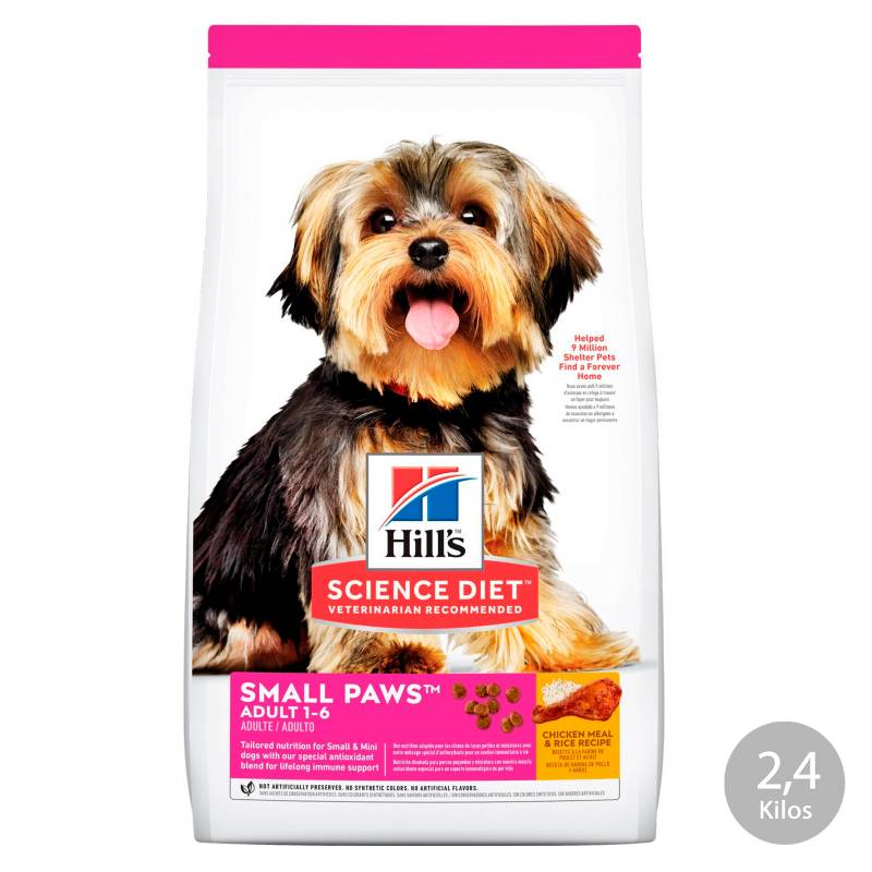 HILL?S - Hills Adulto Small Paws 2,04Kg