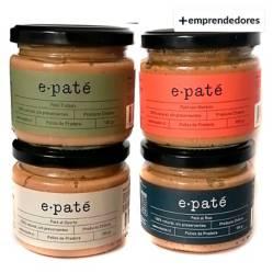 EPATÉ - Paté Pack Ron/Oporto/Trufado/Merkén