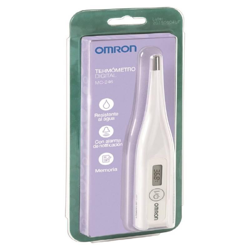 Omron Termometro Digital Mc246 Falabella Com Termómetro digital rígido, ofrece lecturas de temperatura seguras, precisas y rápidas. falabella