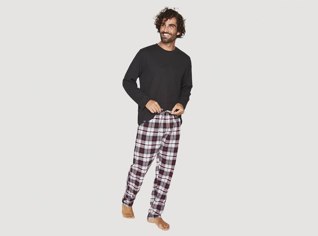 MOTA - Pijama Largo Algodón