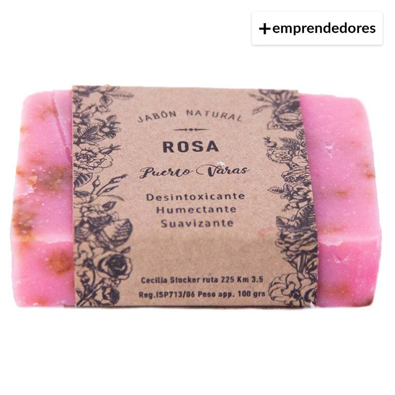 MAWUN - Jabón Natural Rosa 100 G