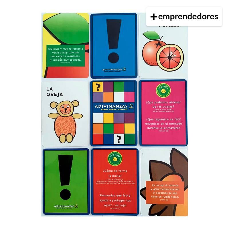 IDEAS AMIGABLES - Tarjetas Eco de Adivinanzas y Curiosidades