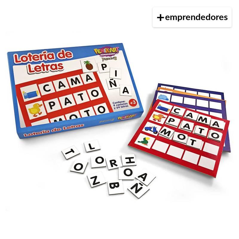 TARMONS - Lotería de Letras