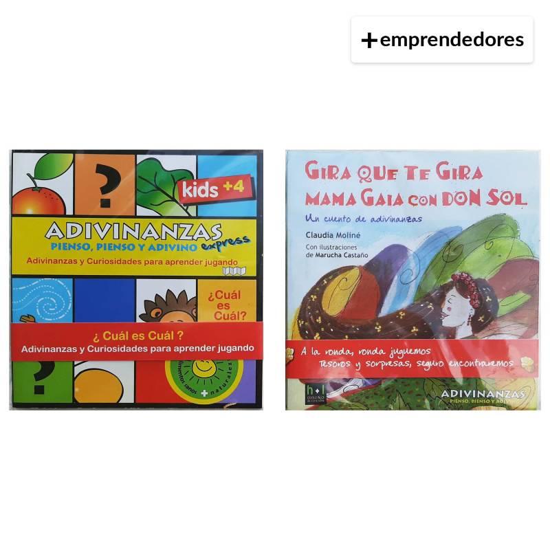 IDEAS AMIGABLES - Eco Valijita Entretenida para Leer Jugar y Plantar