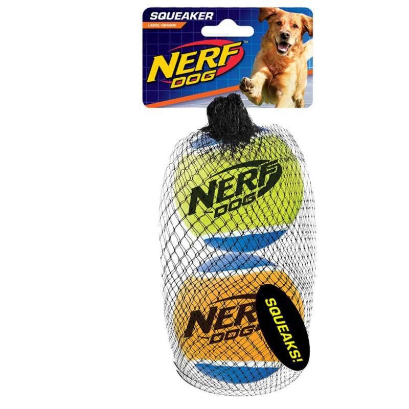 NERF DOG - Nerf Dog Squeak Tennis Balls Large