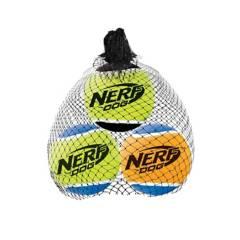 NERF DOG - Nerf Dog Squeak Tennis Balls Medium