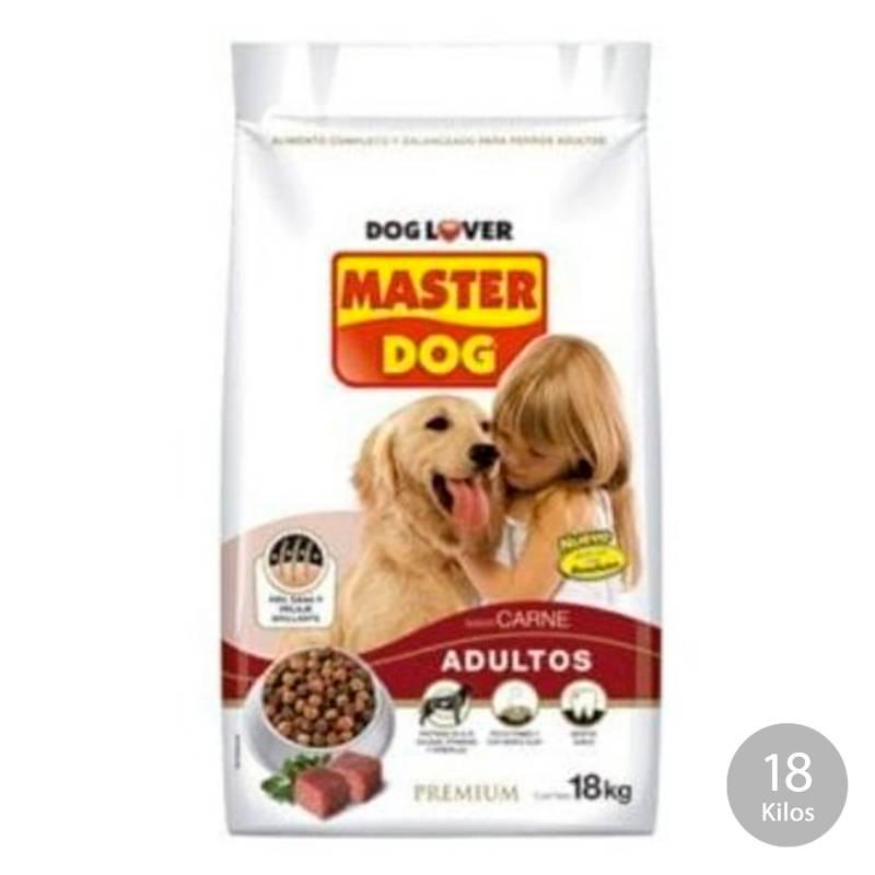 MASTER DOG - Master Dog Adulto Carne (18 Kg.)