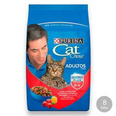 CAT CHOW - Cat Chow Activo Carne (8 Kg.)