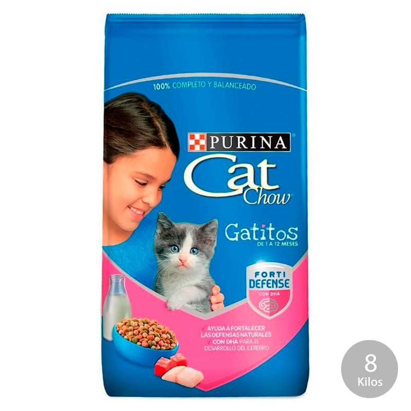 CAT CHOW - Cat Chow Gatitos (8 Kg.)