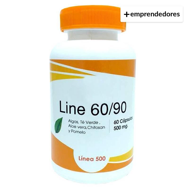 CHACRA URBANA - Bajar de Peso Line 60/90  60 Capsulas de 500 Mg