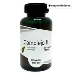 CHACRA URBANA - Complejo B Vitamina 60 Capsulas Blandas de 500 Mg
