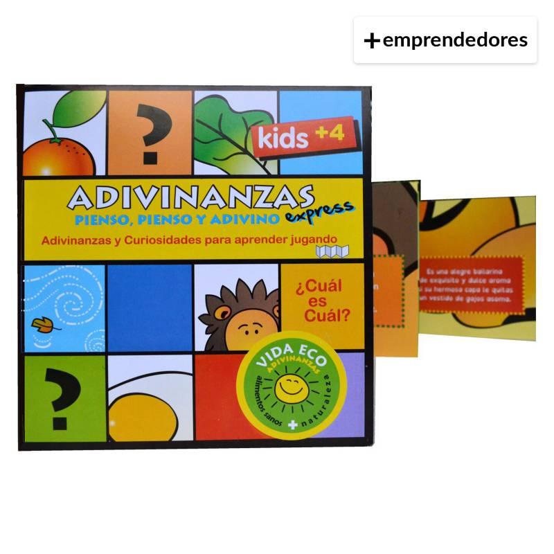 IDEAS AMIGABLES - Libro-Juego con Adivinanzas Express