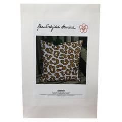 ORQUIDEA - Kit de Bordado Cojín-Leopard
