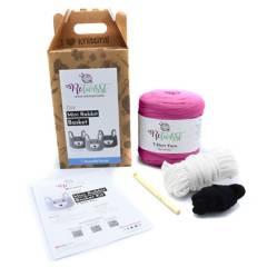 ORQUIDEA - Kit de Tejido Crochet-Mini Rabit Basket