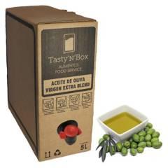 TASTY N BOX - Aceite Oliva Virgen Extra Blend Bag In Box 5 Lts