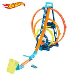 Hot Wheels - Triple Loop Hw Track Builder