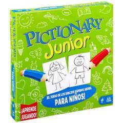 GAMES - Juego De Mesa Familiar Pictionary Junior