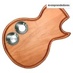 ROCKYOURWAY - Tabla para Picar Gibson Les Paul  S Pocillos