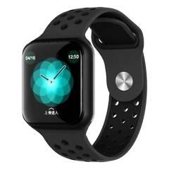 COMPRAPO - Reloj Inteligente Smartwatch Fitness F8 Negro