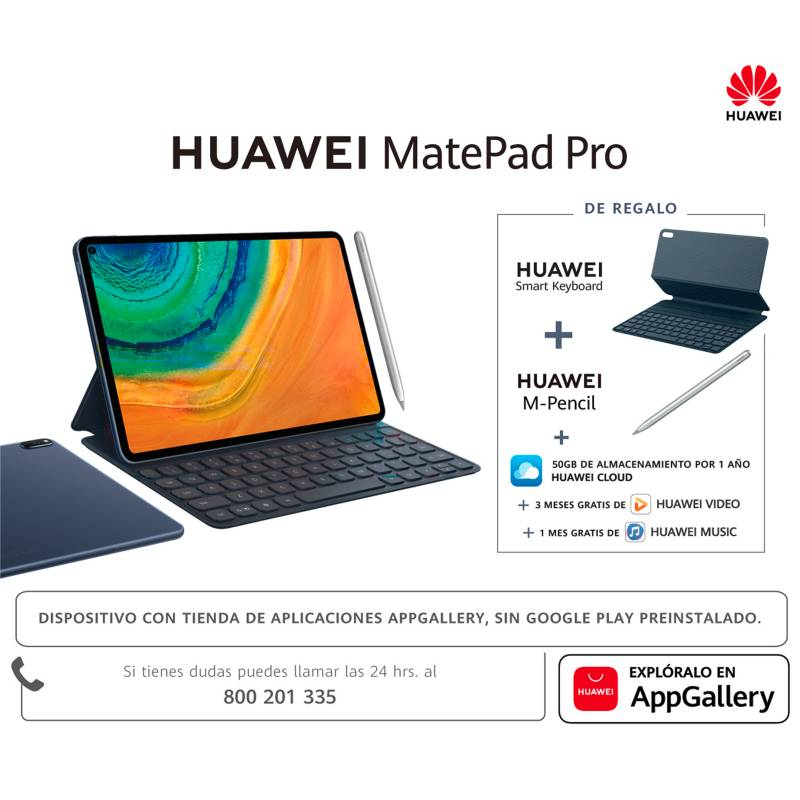 "Huawei - Tablet Matepad PRO 10.5"" 128GB Wi-Fi"
