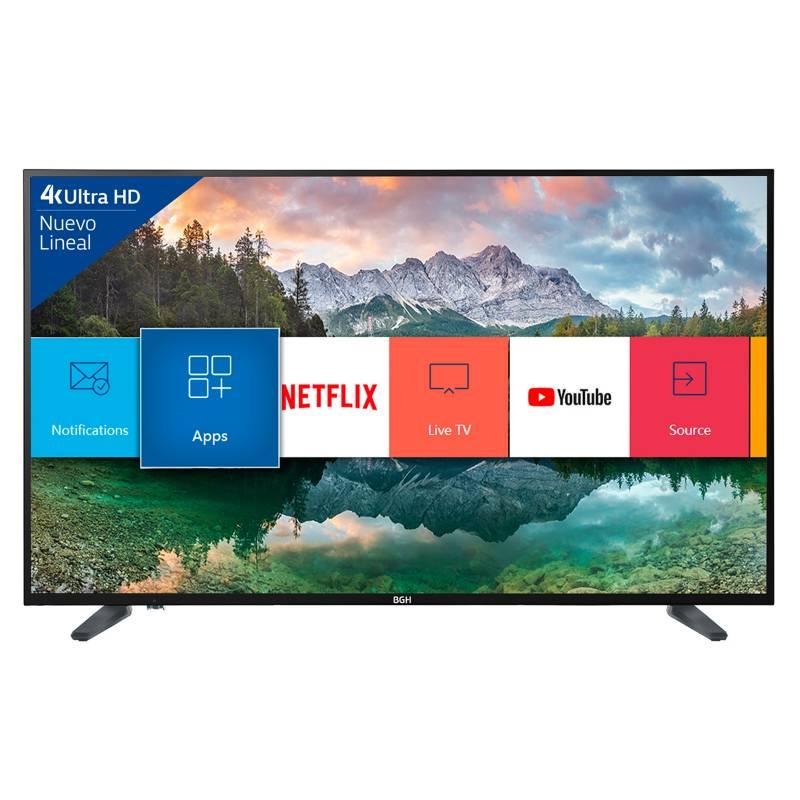 BGH - Led Bgh 50 4K Ultra Hd Smart Tv B5018Uh6Ic