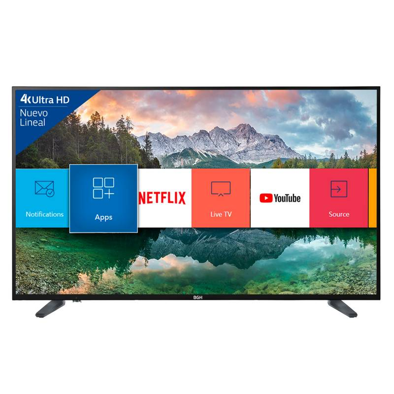 BGH - Led Bgh 55 4K Ultra Hd Smart Tv B5518Uh6Ic