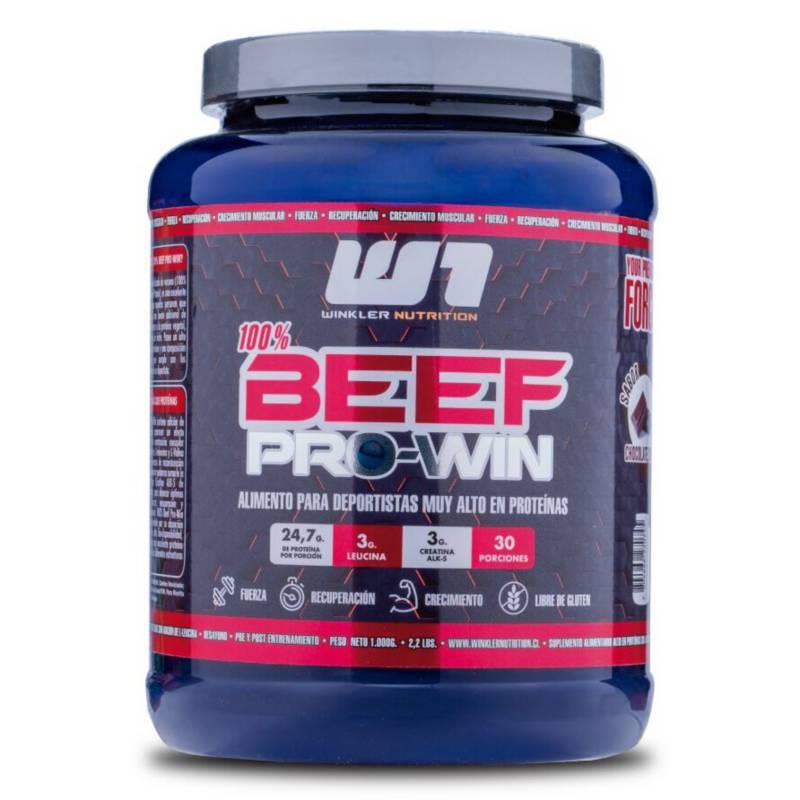 WINKLER NUTRITION - Proteina de Carne Beef Pro Win Chocolate 1 Kg.