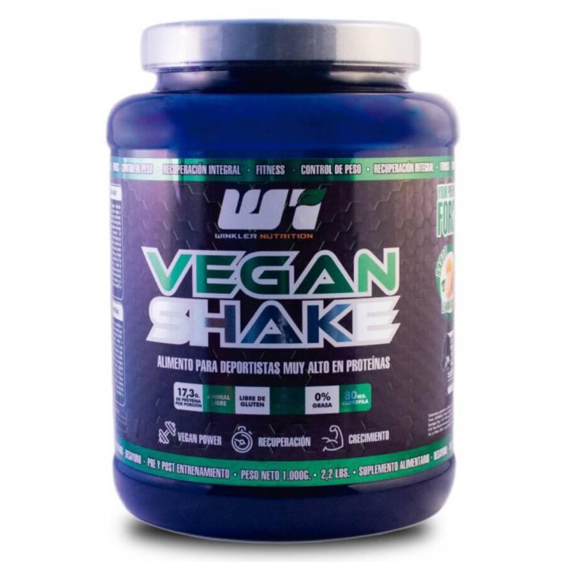 WINKLER NUTRITION - Proteina Vegana de Arveja Vegan Shake Limon 1 Kg.