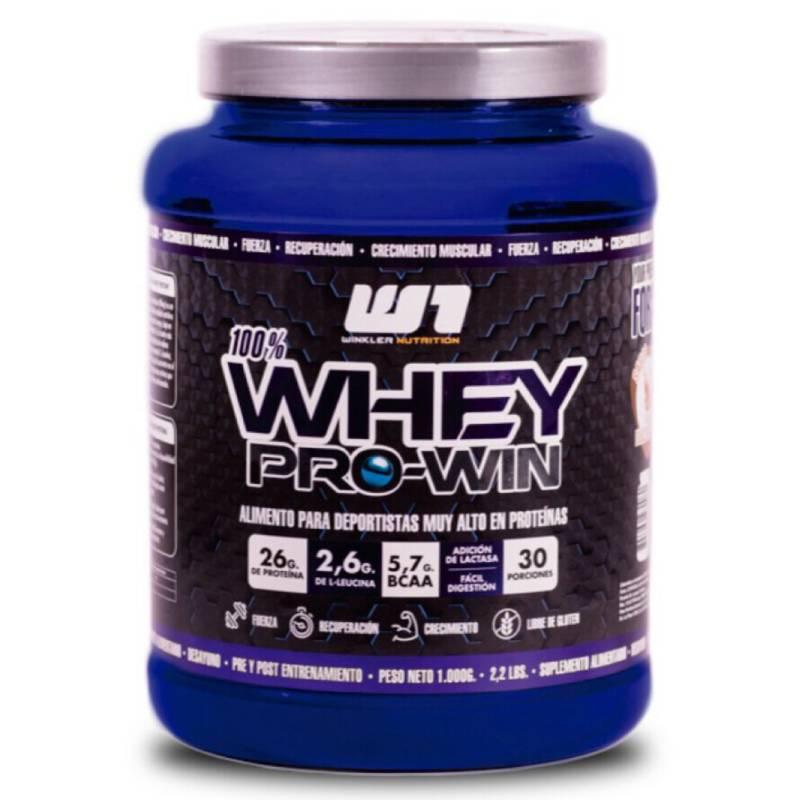 WINKLER NUTRITION - Proteina Whey Pro Win Dulce de Leche 1 Kg.