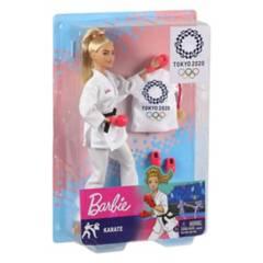 Mattel - Barbie - Karate - Tokyo 2020